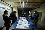 """Germany, Berlin, 2018/03/15<br /> <br /> Eröffnung der Sonderausstellung """"...am wütendsten geprügelt"""" – Verfolgung Berliner Juden 1933<br /> <br /> Ein Kooperationsprojekt der Museen Tempelhof-Schöneberg und des Touro College Berlin<br /> <br /> In der neuen Sonderausstellung thematisieren Studierende des Masterstudiengangs """"Holocaust Communication and Tolerance"""" des Touro College Berlin den Zusammenhang antisemitischer Gesetzgebungen und der zunehmenden physischen Gewalt durch die SA.   <br /> <br /> Im Zentrum der Ausstellung stehen sieben Häftlingsbiographien Berliner Juden. Anhand von Fotos und Dokumenten werden die Schicksale von Ärzten, Schriftstellern, Wahrsagern, Kaufleuten und Anwälten beschrieben und in den Kontext des Gedenkortes eingeordnet.<br /> <br /> Begrüßung: Dr. Irene von Götz, Leiterin der Museen Tempelhof-Schöneberg Einführung: Sara Nachama,  Rektorin und Vizepräsidentin des Touro College Berlin Photo by Gregor Zielke (Photo by Gregor Zielke)"""