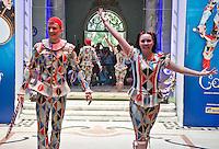 ATENCAO EDITOR FOTO EMBARGADA PARA VEICULOS INTERNACIONAIS. - SAO PAULO, SP, 22 DE NOVEMBRO DE 2012 – COLETIVA DE IMPRENSA CIRQUE DU SOLEIL CORTEO – Coletiva de imprensa para divulgar a temporada brasileira de CORTEO, espetaculo do Cirque du Soleil, na regiao sul da capital paulista, nesta quarta, 22. FOTO ANDREIA TAKAISHI BRAZIL PHOTO PRESS.