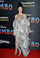 LOS ANGELES, CA. March 11, 2019: Eva Green at the world premiere of &quot;Dumbo&quot; at the El Capitan Theatre.<br /> Picture: Paul Smith/Featureflash