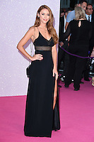 "Una Foden<br /> at the ""Bridget Jones's Baby"" World premiere, Odeon Leicester Square , London.<br /> <br /> <br /> ©Ash Knotek  D3149  05/09/2016"