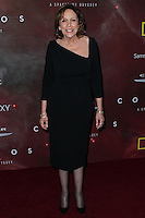 "LOS ANGELES, CA, USA - MARCH 04: Ann Druyan at the Premiere Of FOX's ""Cosmos: A SpaceTime Odyssey"" held at The Greek Theatre on March 4, 2014 in Los Angeles, California, United States. (Photo by Xavier Collin/Celebrity Monitor)"