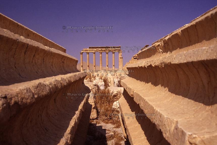 SIRIA - sito di Palmira(Tadmor)   tempio di Bel