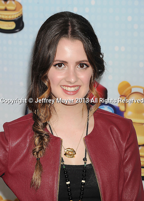 LOS ANGELES, CA- APRIL 27: Actress Laura Marano arrives at the 2013 Radio Disney Music Awards at Nokia Theatre L.A. Live on April 27, 2013 in Los Angeles, California.