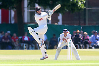 Gareth Batty in batting action for Surrey during Surrey CCC vs Essex CCC, Specsavers County Championship Division 1 Cricket at Guildford CC, The Sports Ground on 10th June 2017
