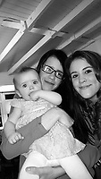 COPY BY TOM BEDFORD<br /> Pictured: Katrina Evemy (C) with unknown baby<br /> Re: Dylan Hywel Harries is due to be sentenced at Swansea Crown Court, after a jury found him guilty of murdering 19 year old Katrina Evemy following an incident in Llanelli, Carmarthenshire, Wales, on the evening of Thursday the 13th April 2017.