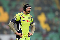 Andrei Ostrikov of Sale Sharks. Aviva Premiership match, between Northampton Saints and Sale Sharks on March 3, 2018 at Franklin's Gardens in Northampton, England. Photo by: Patrick Khachfe / JMP