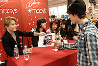 Macy's Light Up Night Macy's Department Store in Downtown Pittsburgh, Pennsylvania on Friday November 18, 2011