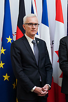 Jurgen Stock - Secretaire General d Interpol<br /> Parigi Place Beauveau 5/4/2019 <br /> G7 Ministri dell'interno <br /> Foto JB Autissier/Panoramic/Insidefoto