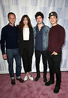 """LOS ANGELES, CA - JUNE 21: Joseph Cross, Analeigh Tipton, Ian Nelson, Hayden Szeto, at 2019 Rom Com Fest Los Angeles - """"Summer Night"""" at Downtown Independent in Los Angeles, California on June 21, 2019. Credit: Faye Sadou/MediaPunch"""