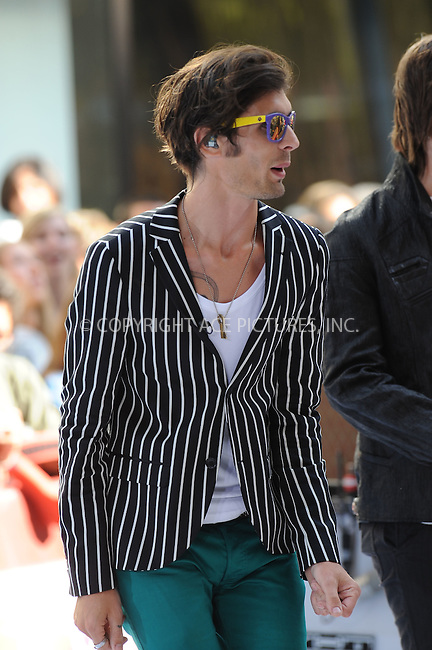 WWW.ACEPIXS.COM . . . . . ....July 17 2009, New York City....Rock band The All American Rejects performed on NBC's 'Today Show' at the Rockerfeller Plaza on July 17 2009 in New York City....Please byline: KRISTIN CALLAHAN - ACEPIXS.COM.. . . . . . ..Ace Pictures, Inc:  ..tel: (212) 243 8787 or (646) 769 0430..e-mail: info@acepixs.com..web: http://www.acepixs.com