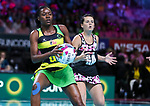 28/10/17 Fast5 2017<br /> Fast 5 Netball World Series<br /> Hisense Arena Melbourne<br /> Jamaica v  Sth Africa<br /> <br /> <br /> <br /> <br /> <br /> Photo: Grant Treeby