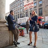 Secondo giorno della settimana della moda 2010 a Milano.<br /> <br /> Second day of the Milan fashion week