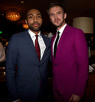 "LOS ANGELES, CA - APRIL 2: Jeremie Harris and Dan Stevens attend the party for the season two premiere of FX's ""Legion"" at the Soho House on April 2, 2018 in Los Angeles, California. (Photo by Frank Micelotta/FX/PictureGroup)"