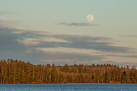 """Moonrise Over Pipestone Bay""<br />