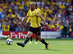 Nordin Amrabat of Watford during the premier league match at the Vicarage Road Stadium, Watford. Picture date 26th August 2017. Picture credit should read: Robin Parker/Sportimage
