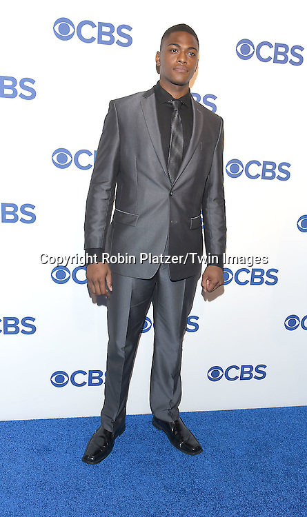 Justin Cornwell attends the CBS Upfront 2016-2017 on May 18, 2016 at the Oak Room at the Plaza Hotel in New Yorik, New York, USA.<br /> <br /> photo by Robin Platzer/Twin Images<br />  <br /> phone number 212-935-0770