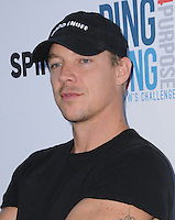 11 August 2016 - Los Angeles, California. Diplo. Clayton Kershaw's 4th Annual Ping Pong 4 Purpose Celebrity Tournament held at Dodger Stadium. Photo Credit: Birdie Thompson/AdMedia