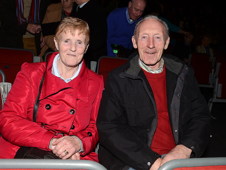 Brendan and Sophie Griffin pictured at the Showband show in the TLT. Photo:Colin Bell/pressphotos.ie