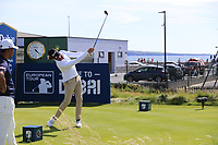 Pedro Figueiredo (POR) tees off the 3rd tee during Thursday's Round 1 of the Dubai Duty Free Irish Open 2019, held at Lahinch Golf Club, Lahinch, Ireland. 4th July 2019.<br /> Picture: Eoin Clarke | Golffile<br /> <br /> <br /> All photos usage must carry mandatory copyright credit (© Golffile | Eoin Clarke)