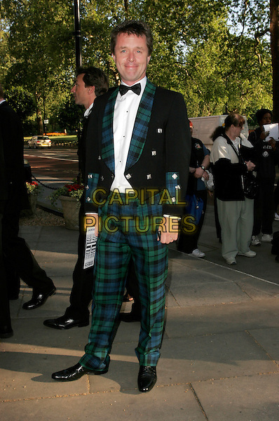 NICKY CAMPBELL.Attending the Sony Radio Academy Awards, Grosvenor House Hotel, London, England, April 30th 2007..full length tartan suit trousers jacket.CAP/AH.©Adam Houghton/Capital Pictures.