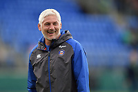 Bath Director of Rugby Todd Blackadder looks on during the pre-match warm-up. Pre-season friendly match, between Leinster Rugby and Bath Rugby on August 25, 2017 at Donnybrook Stadium in Dublin, Republic of Ireland. Photo by: Patrick Khachfe / Onside Images