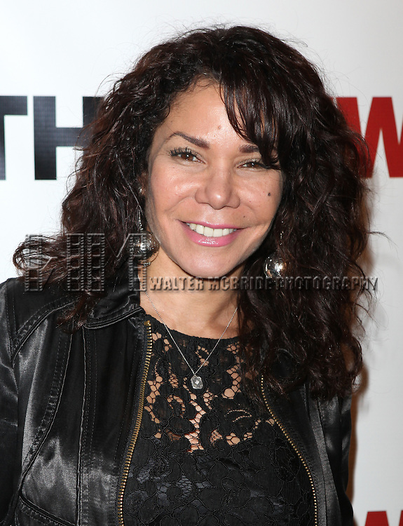 Daphne Rubin-Vega.attending the Off-Broadway Opening Night Party for The New Group Revival of Wallace Shawn's 'Marie And Bruce' in New York City.