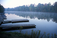 Early Morning Mist on Thames River London Ontario