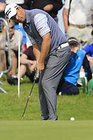Padraig Harrington (IRL) putts on the 14th green during Thursday's Round 1 of the Dubai Duty Free Irish Open 2019, held at Lahinch Golf Club, Lahinch, Ireland. 4th July 2019.<br /> Picture: Eoin Clarke | Golffile<br /> <br /> <br /> All photos usage must carry mandatory copyright credit (© Golffile | Eoin Clarke)