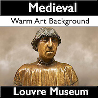MuseoPics - Photos of Louvre Museum Late Medieval Exhibits - Warm Art