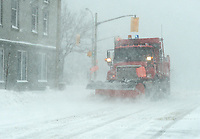 March 12 snow storm downtown Sarnia