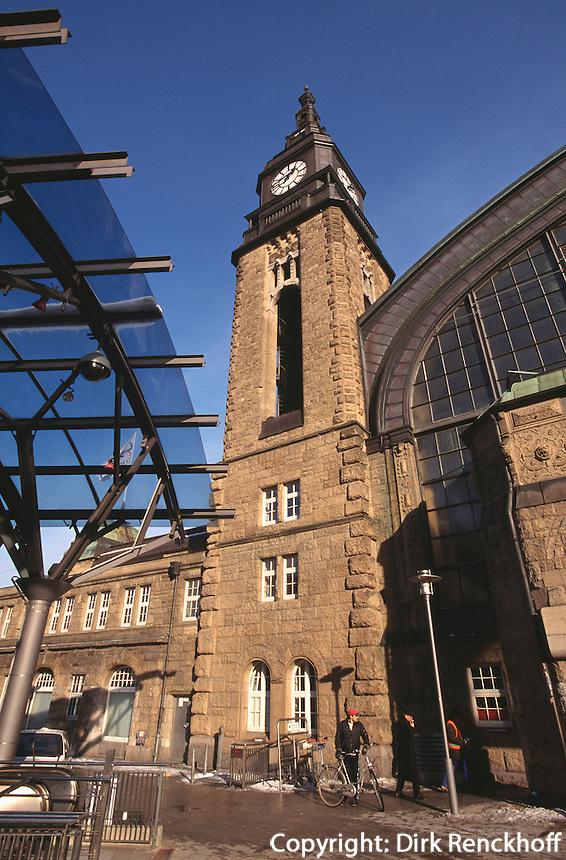 Hauptbahnhof in Hamburg, Deutschland