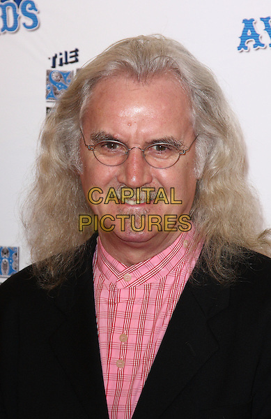 BILLY CONNOLLY .Attending the South Bank Show Awards at the Dorchester Hotel, Park Lane, London, UK, January 26th 2010..arrivals portrait headshot glasses facial hair moustache mustache pink plaid checked check shirt .CAP/ROS.©Steve Ross/Capital Pictures.