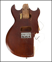 No Apologies - Kurt Cobains smashed guitar for sale.