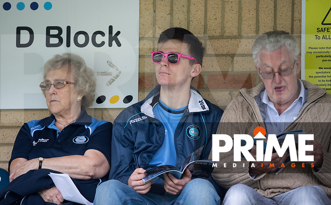Wycombe Wanderers supporters pre match during the Sky Bet League 1 match between Wycombe Wanderers and Bristol Rovers at Adams Park, High Wycombe, England on 18 August 2018. Photo by Andy Rowland.