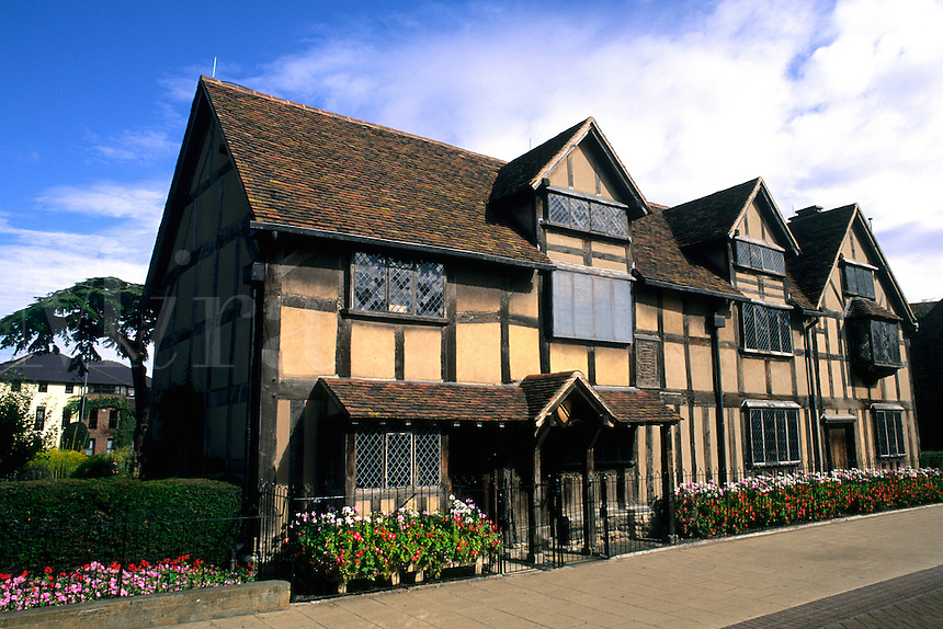 William Shakespeare's birthplace and home 1564 Stratford Upon Avon England