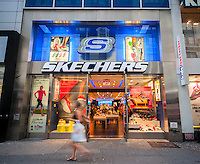 A Skechers store in Herald Square in New York on Tuesday, August 9, 2016.   (© Richard B. Levine)