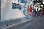 Dior storefront on Rodeo Drive, Beverly Hills, CA
