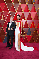 Blanca Blanco and guest arrives on the red carpet of The 90th Oscars&reg; at the Dolby&reg; Theatre in Hollywood, CA on Sunday, March 4, 2018.<br /> *Editorial Use Only*<br /> CAP/PLF/AMPAS<br /> Supplied by Capital Pictures