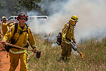 Cal Fire training fire on Converse Rd.