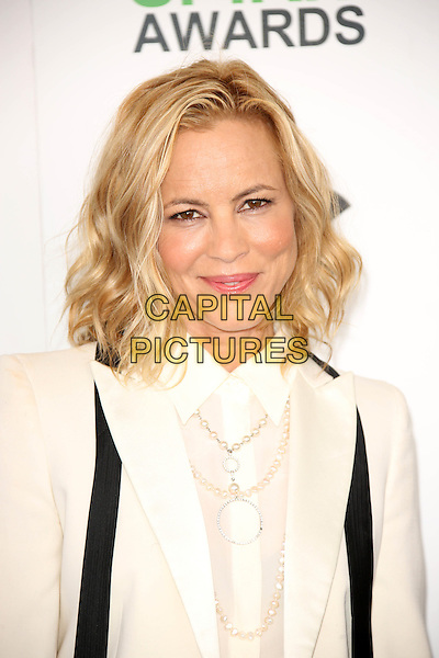 SANTA MONICA, CA - March 01: Maria Bello at the 2014 Film Independent Spirit Awards Arrivals, Santa Monica Beach, Santa Monica,  March 01, 2014. Credit: Janice Ogata/MediaPunch<br /> CAP/MPI/JO<br /> &copy;JO/MPI/Capital Pictures