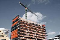 Nederland - Amsterdam -  November 2019. Nieuwbouw aan de Zuidas.  Foto Berlinda van Dam / Hollandse Hoogte