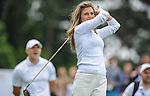 England&rsquo;s Zoe Hardman tees off on first <br /> <br /> Golf - Day 1 - Celebrity Cup - Saturday 4th July 2015 - Celtic Manor Resort  - Newport<br /> <br /> &copy; www.sportingwales.com- PLEASE CREDIT IAN COOK