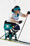 Nonno Nitta (JPN),<br /> MARCH 14, 2018 - Cross-Country Skiing : <br /> Women's Sprint 1.1 km Sitting Qualification<br /> at Alpensia Biathlon Centre   <br /> during the PyeongChang 2018 Paralympics Winter Games in Pyeongchang, South Korea. <br /> (Photo by Yusuke Nakanishi/AFLO SPORT)