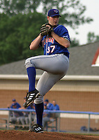 July 4, 2003:  Pitcher Tom Mastny (37) of the Auburn Doubledays, Class-A affiliate of the Toronto Blue Jays, during a game at Dwyer Stadium in Batavia, NY.  Photo by:  Mike Janes/Four Seam Images
