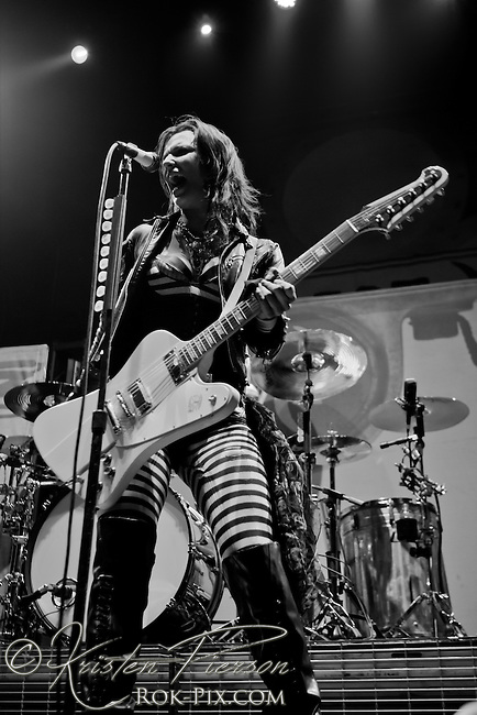 Halestorm performing at Avalanche Tour on May 1 at Mohegan Sun Casino in Uncasville, CT.