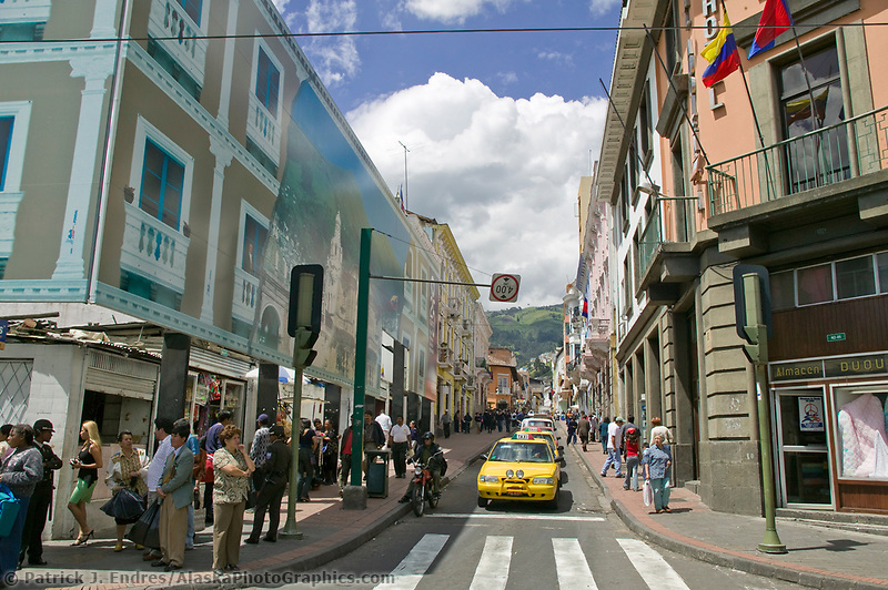Downtown Quito, Ecuador