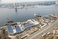 1982 September 28..Redevelopment.Downtown South (R-9)..WATERSIDE.CONSTRUCTION PROGRESS...NEG#.NRHA#..