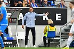 11.05.2019, PreZero Dual Arena, Sinsheim, GER, 1. FBL, TSG 1899 Hoffenheim vs. SV Werder Bremen, <br /> <br /> DFL REGULATIONS PROHIBIT ANY USE OF PHOTOGRAPHS AS IMAGE SEQUENCES AND/OR QUASI-VIDEO.<br /> <br /> im Bild: Julian Nagelsmann (Trainer TSG Hoffenheim)<br /> <br /> Foto &copy; nordphoto / Fabisch