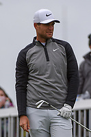 Lucas Bjerregaard (DEN) watches his tee shot on 7 during day 5 of the WGC Dell Match Play, at the Austin Country Club, Austin, Texas, USA. 3/31/2019.<br /> Picture: Golffile | Ken Murray<br /> <br /> <br /> All photo usage must carry mandatory copyright credit (&copy; Golffile | Ken Murray)