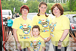 Pictured at the Bee For Battens Awareness Day festivities in The Kerry Way bar, Glenflesk on Saturday were Moira Heffernan, Alicia Quinn, Fiona Quinn and Jack McGuinness. ....................